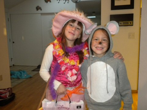 Fancy Nancy & a Mouse