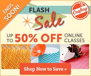 CraftsyFlashSale