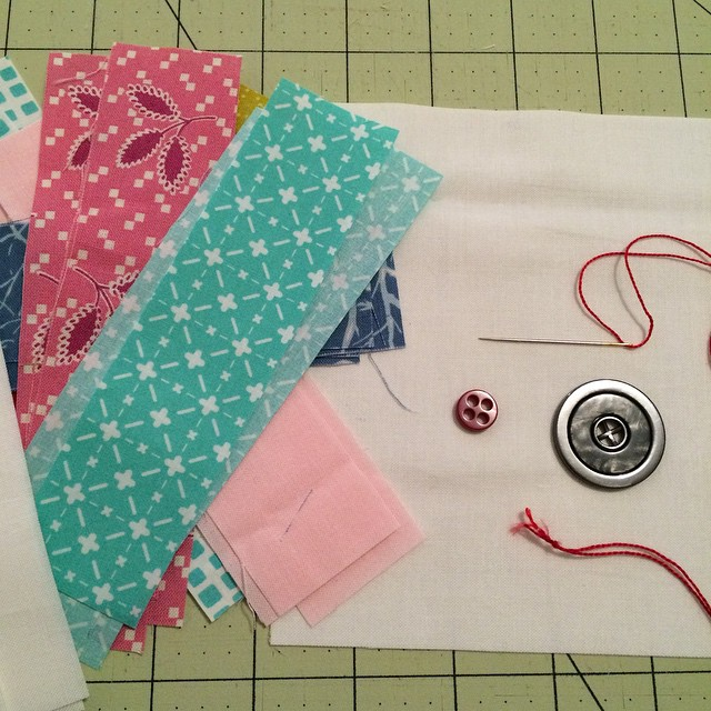 Button repair but I would rather be sewing of course. #widrn tagged by @littlebluecottage Oh and I have cookies to make! Lol tagging @the_orriginal @allisonsews @creativequiltgirl @cocodivabeauty
