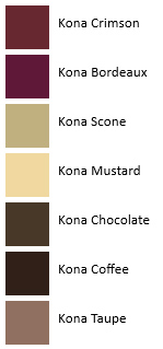 Chocolate Moelleux - Kona - French Color Palettes - Me Being Crafty