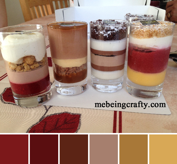 Dessert - French Color Palettes - Me Being Crafty