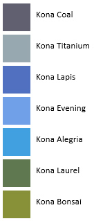 Gate - Kina Colors - French Color Palettes