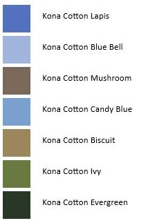 Kona Colors - Northern Ireland Ocean View - Color Palettes