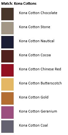 North Ireland House Kona colors