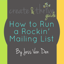 How To Run A Rockin' Mailing List