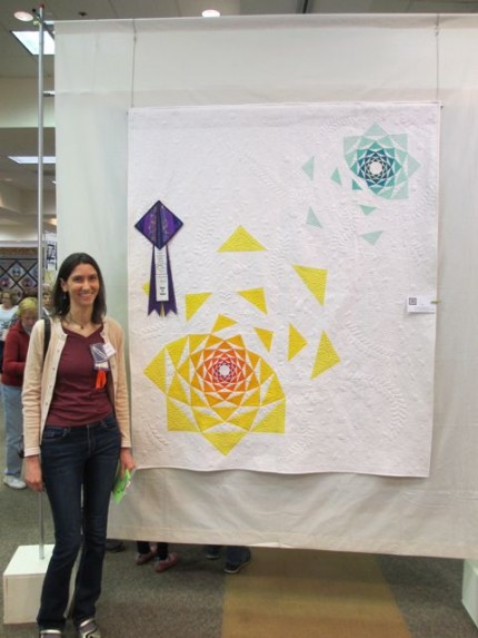 sylvia_withquilt